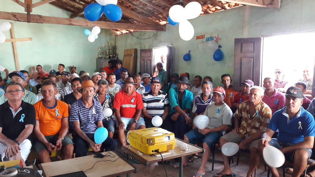 Mais de 170 homens participaram do Novembro Azul em Caraíbas