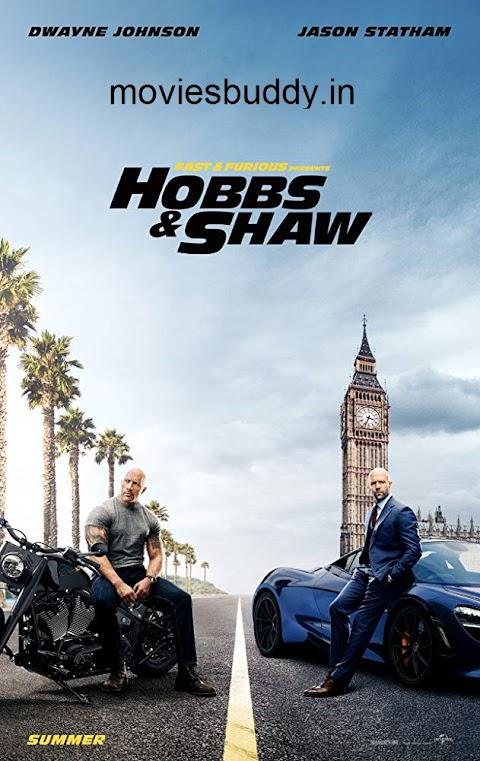 Fast & Furious-Hobbs  Shaw 2019 Hindi HDCAM Dual audio 720p