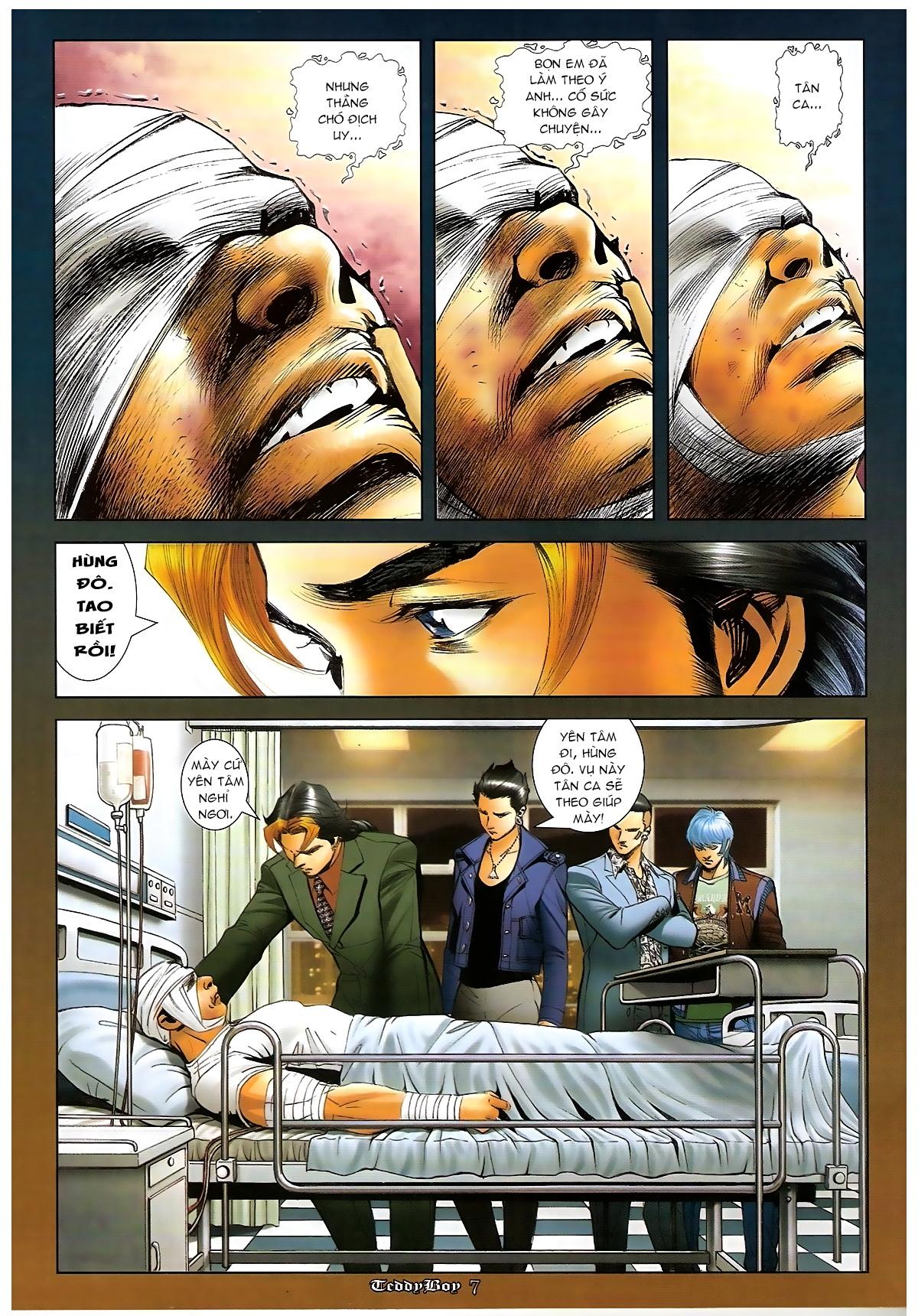 Người Trong Giang Hồ - Chapter 1267: Quá Giang Hổ vs Phi Châu Hổ - Pic 6