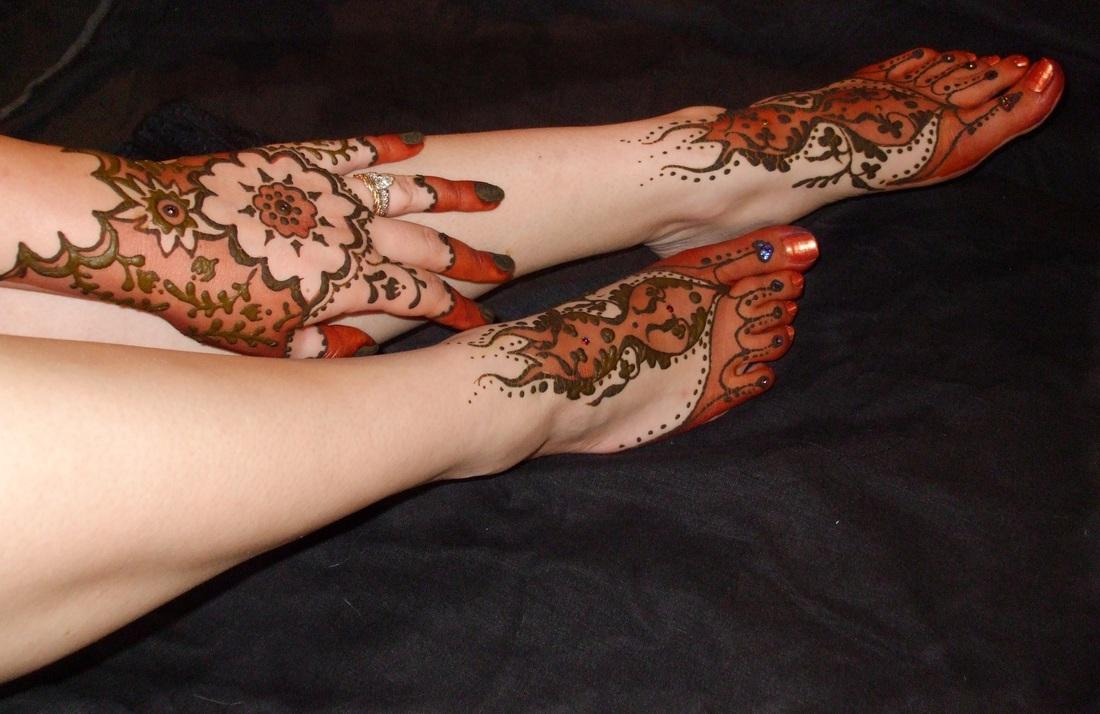 Bridal Leg Mehndi Images : New henna mehndi designs images photos idea