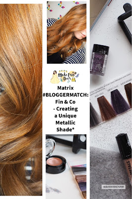 Matrix #BLOGGERMATCH: Fin & Co - Creating a Unique Metallic Shade*