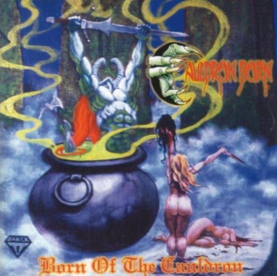 """Το album των Cauldron Born """"Born of the Cauldron"""""""