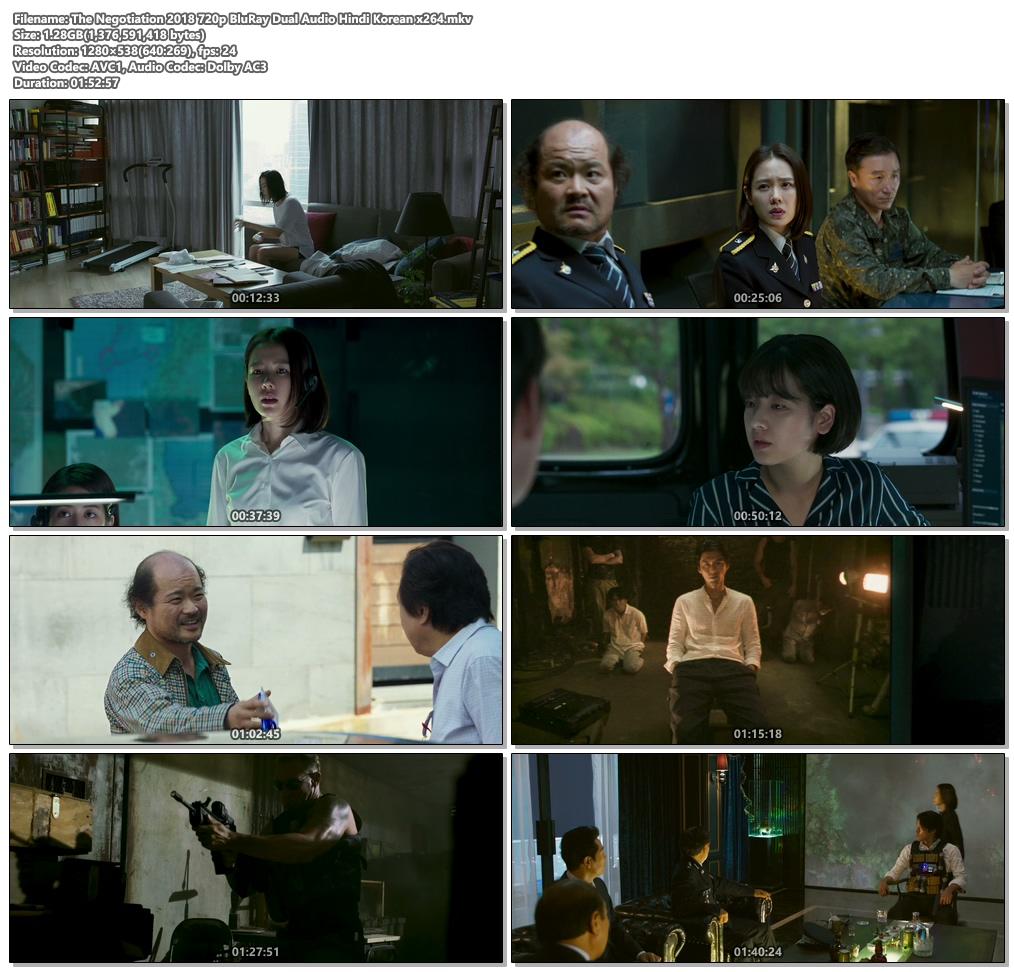 The Negotiation 2018 720p BluRay Dual Audio Hindi Korean x264 | 480p 300MB | 100MB HEVC Screenshot