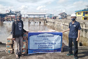 Sambu Group Salurkan Biskuit Lebaran di Kecamatan Tanah Merah