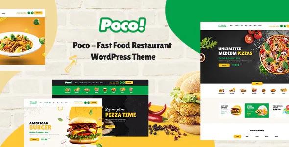 Best Fast Food Restaurant WordPress Theme