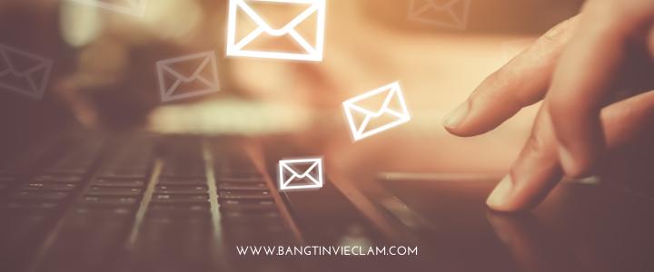 Cách gửi email  ứng tuyển việc làm thành công