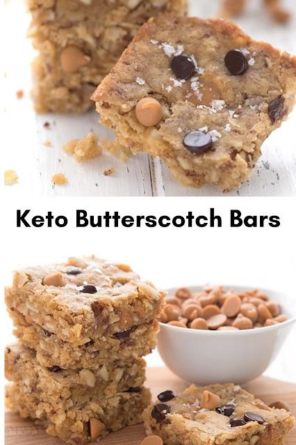 Keto Butterscotch Bars