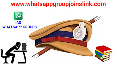 👮Join 100+ IAS WhatsApp Group Joins Link