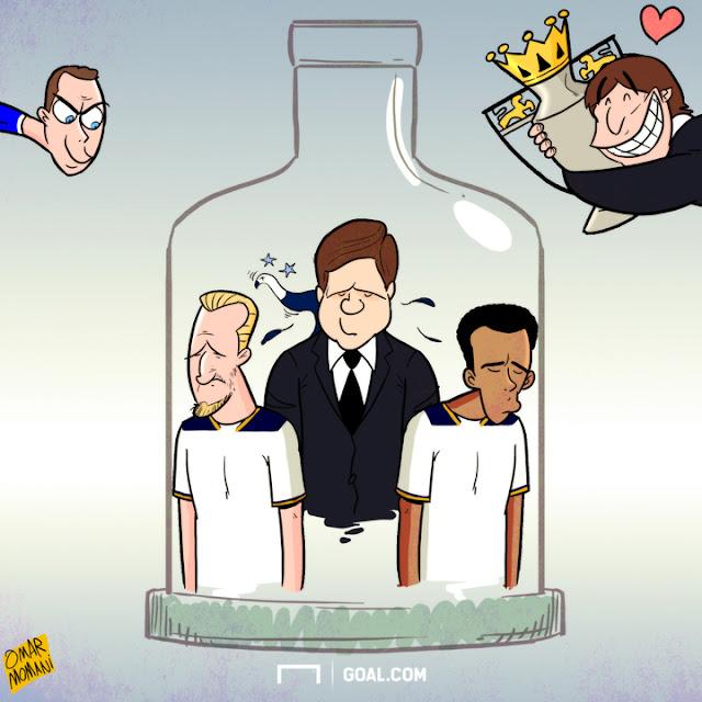 Tottenham Vs Ajax Live Stream Twitter: Omar Momani Cartoons: Spurs The Bottlers