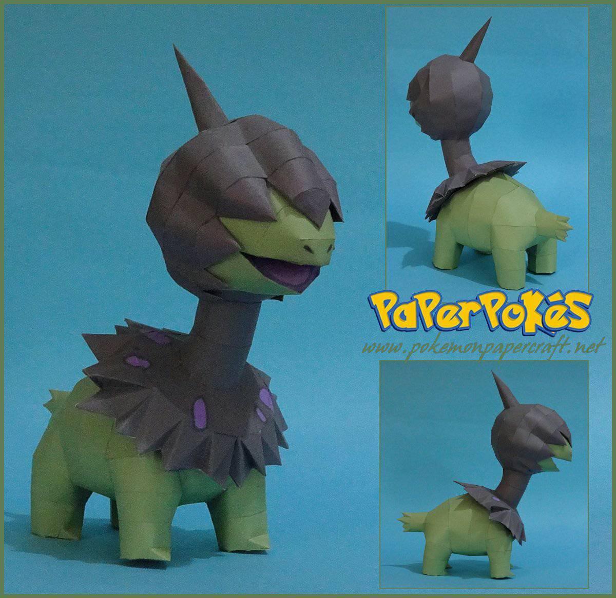 Paperpokés - Pokémon Papercraft