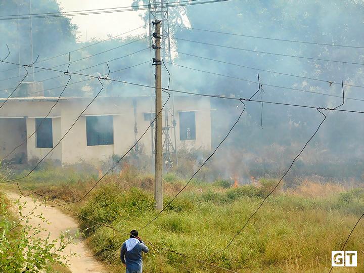 hydel-power-house-fire