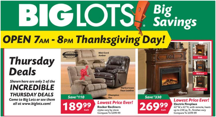 Black Friday 2011 Big Lots Norcal Coupon Gal