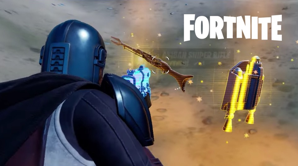 Fortnite: how to get the mythical weapons of the Mandalorian from Season 5