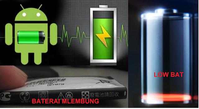 Cara Ampuh Memperbaiki Baterai HP Yang Rusak Lowbat / Kembung