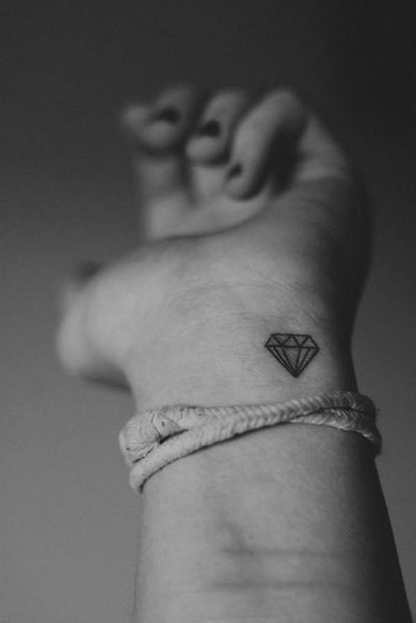 gambar tato diamond