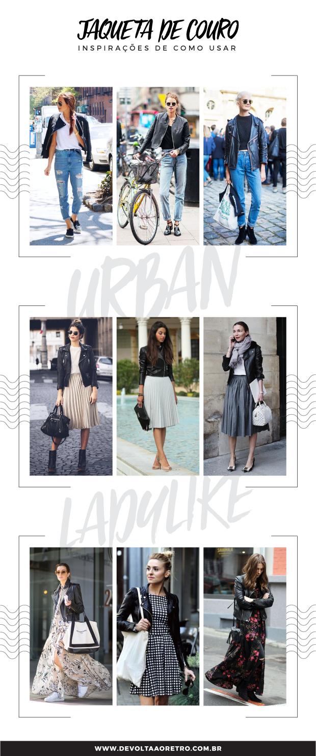 Como usar jaqueta de couro, jaqueta de couro com saia, jaqueta de couro com jean, jaqueta de couro com vestido, estilo ladylike