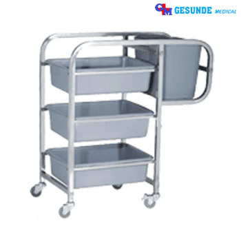 alat dish trolley (clearing trolley)