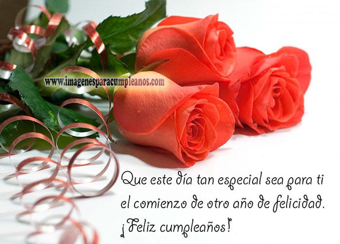 Imagenes De Feliz Cumpleanos Con Flores ツ Tarjetas De Feliz