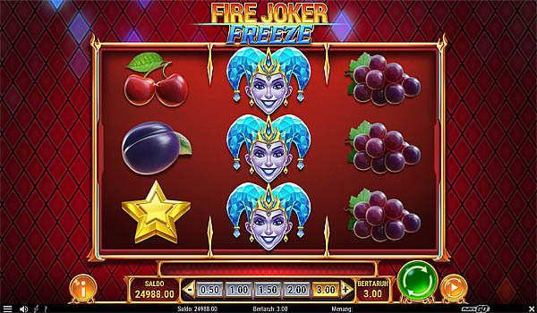 Main Gratis Slot Indonesia - Fire Joker Freeze Play N GO