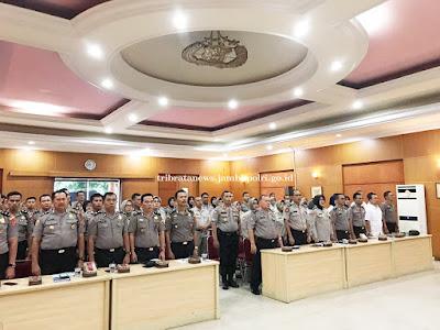 BPJS Kesehatan Cabang Jambi, laksanakan Kegiatan Pemberian Informasi Kepada Para Personil Polda Jambi