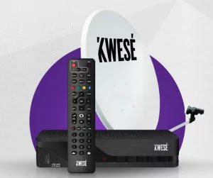 New Kwesé TV Channels, Subscription And Price Of Decoder And Dish
