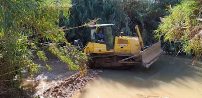 Μεσσηνία: Συνεχίζονται οι αντιπλημμυρικές εργασίες και η συντήρηση οδικού δικτύου