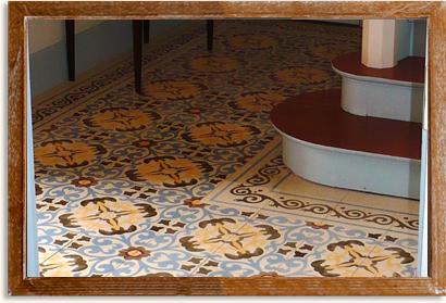 art d co id es d co pour vos sols avec des carreaux de ciment et du parquet. Black Bedroom Furniture Sets. Home Design Ideas