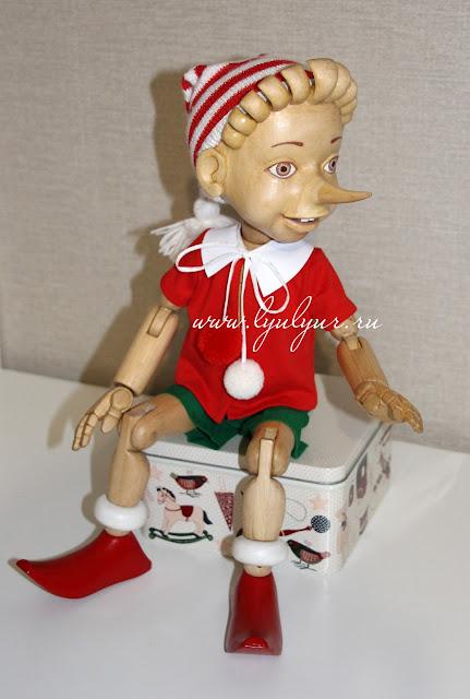 Деревянная шарнирная кукла Буратино, Буратино деревянный, Деревянный мальчик, Люлюр, Lyulyur, Кукла деревянная, Цапенко Юрий Васильевич, Ручная работа, Интерьерная кукла, Сказочный персонаж, Подарок на любой случай, Подарок на новый год, Подарок на день рождения,