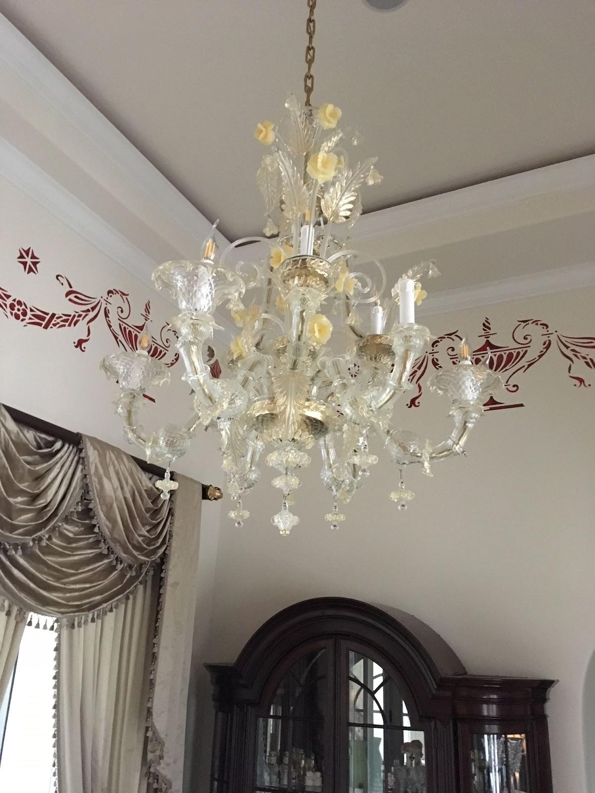 Lampadario murano, montatura in metallo cromato. Lampadario Di Murano Restaurare Un Ca Rezzonicio Ricambi Per Lampadari In Vetro Di Murano E Specchi Veneziani