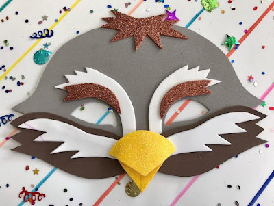 Máscara de gorrión