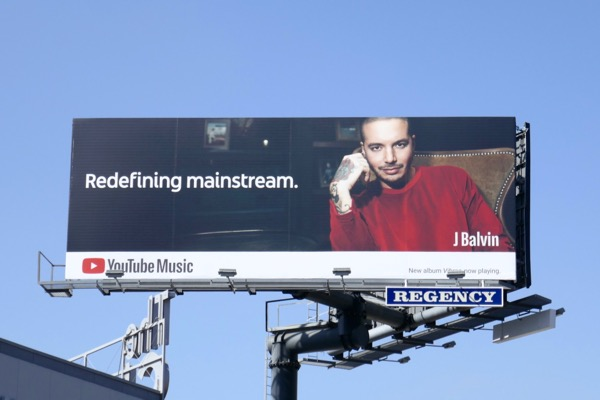 Redefining mainstream J Balvin YouTube Music billboard