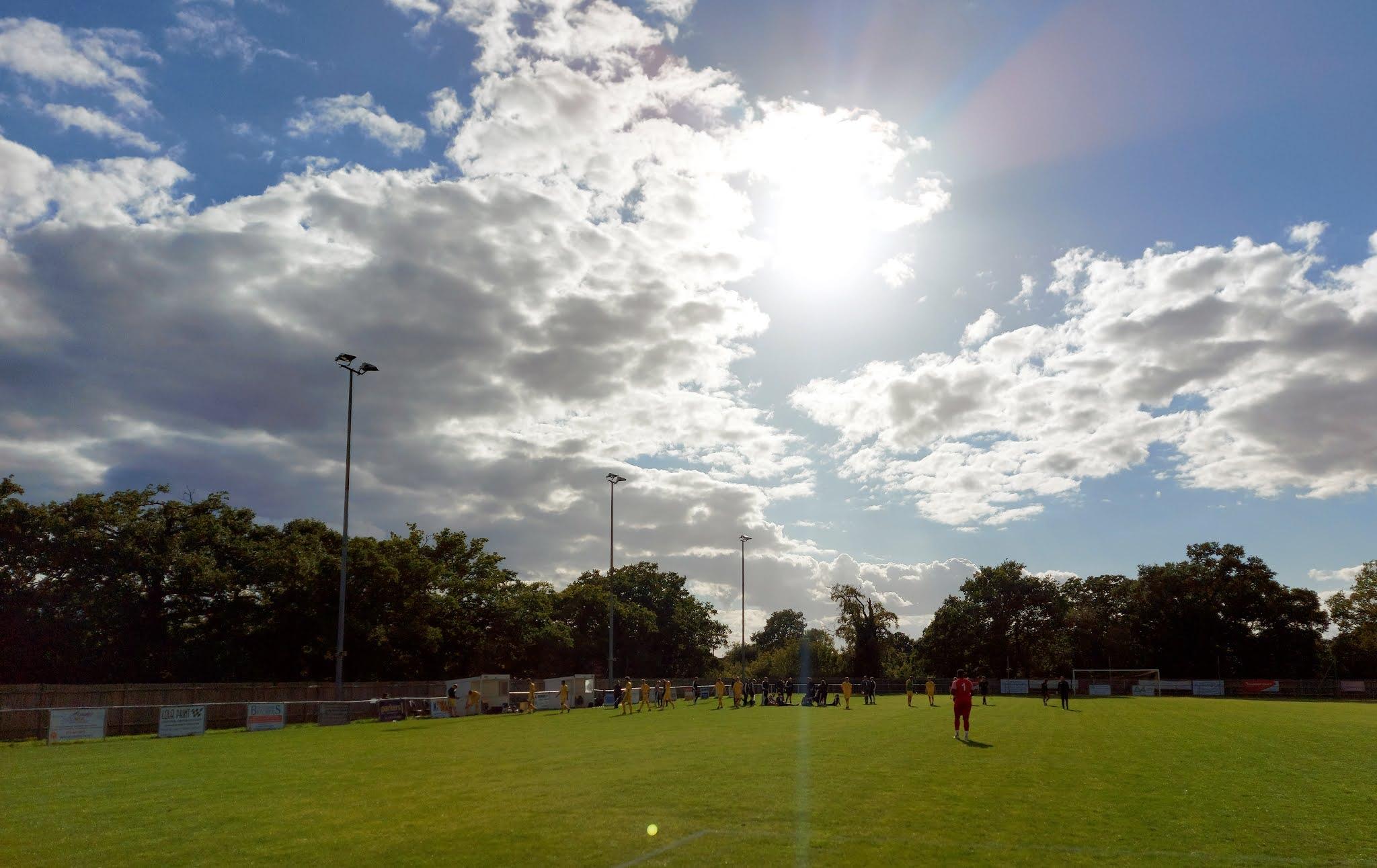 A look towards the dugouts at Barlow's Park