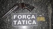 Polícia Militar apreende armas em Igarapé Grande e Lago da Pedra.