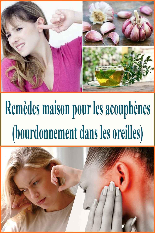 Remèdes maison pour les acouphènes (bourdonnement dans les oreilles)