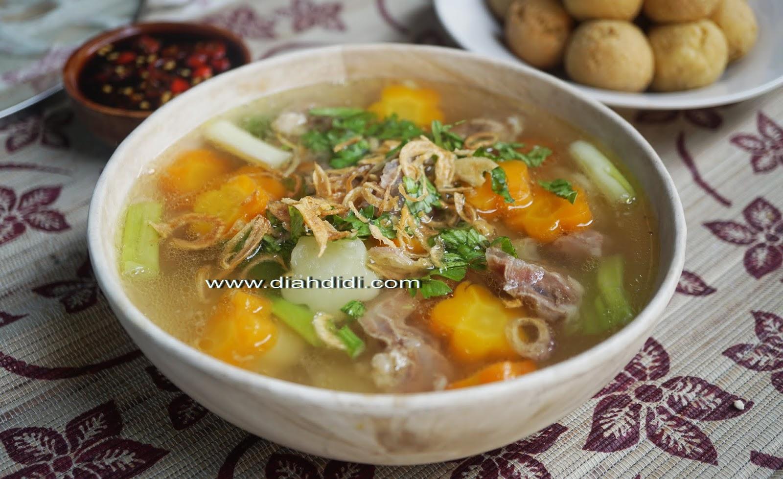 Diah Didi S Kitchen Sop Daging