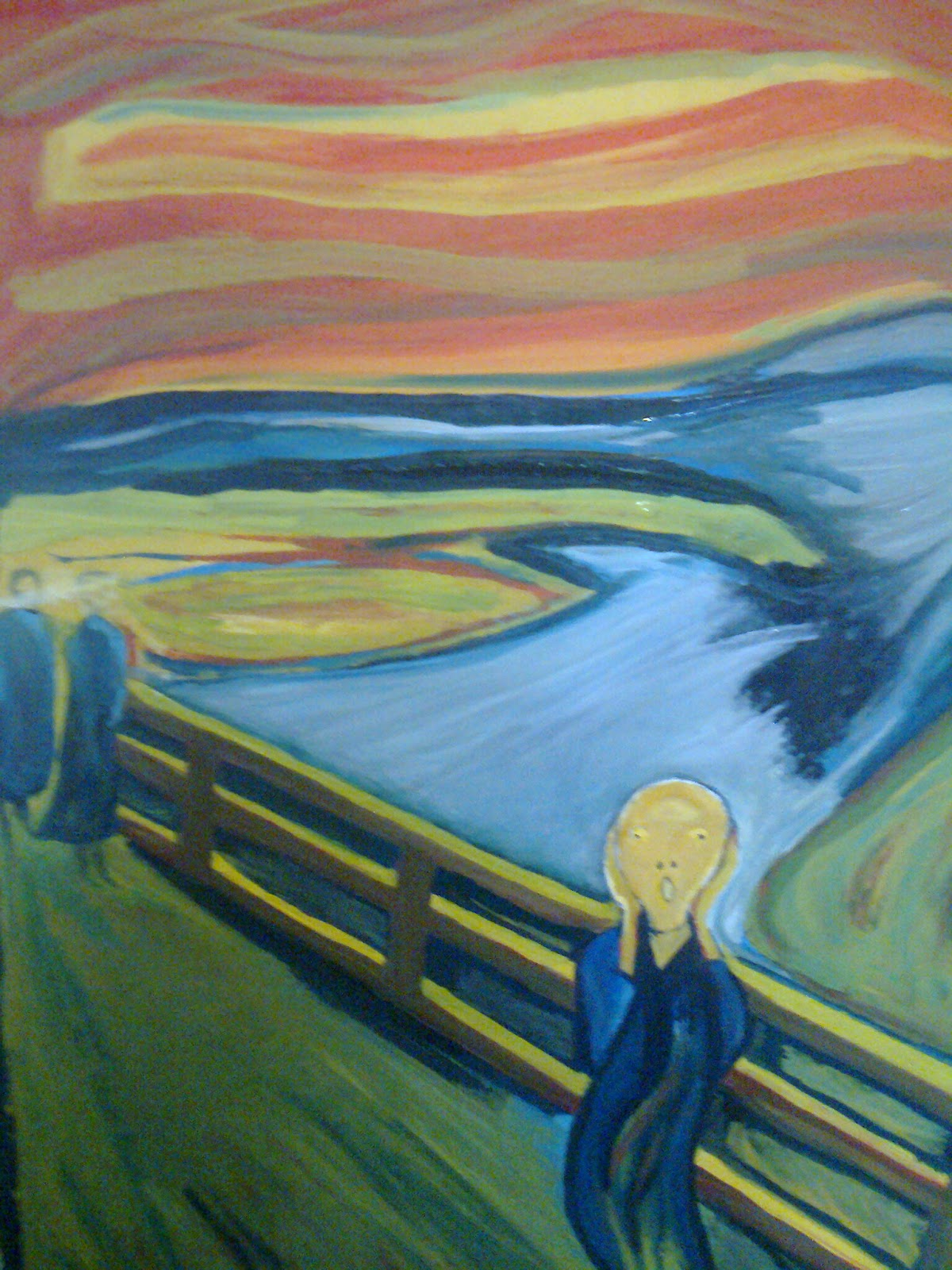 Scream: A tribute to Munch