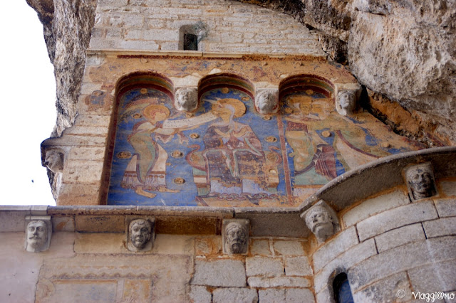 Affreschi presso i santuari di Rocamadour