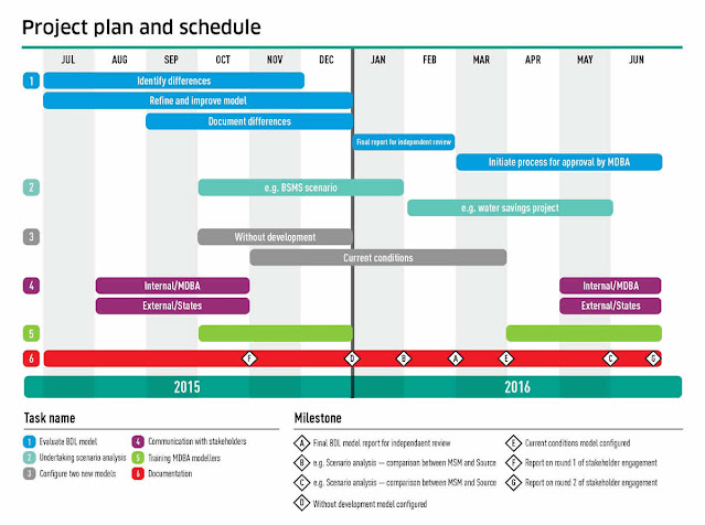 Planning and scheduling the implementation of government projects