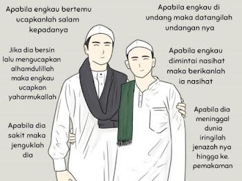 Salam Jumaat : 6 Kewajipan Seorang Muslim Terhadap Muslim Lainnya
