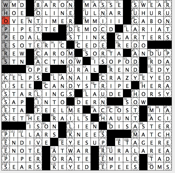 Rex Parker Does The Nyt Crossword Puzzle Protagonist In Toni Morrison S Beloved Sun 10 27 19 Ricochet Like Hockey Puck Us Island Owned Almost Entirely By Billionaire Larry Ellison Display