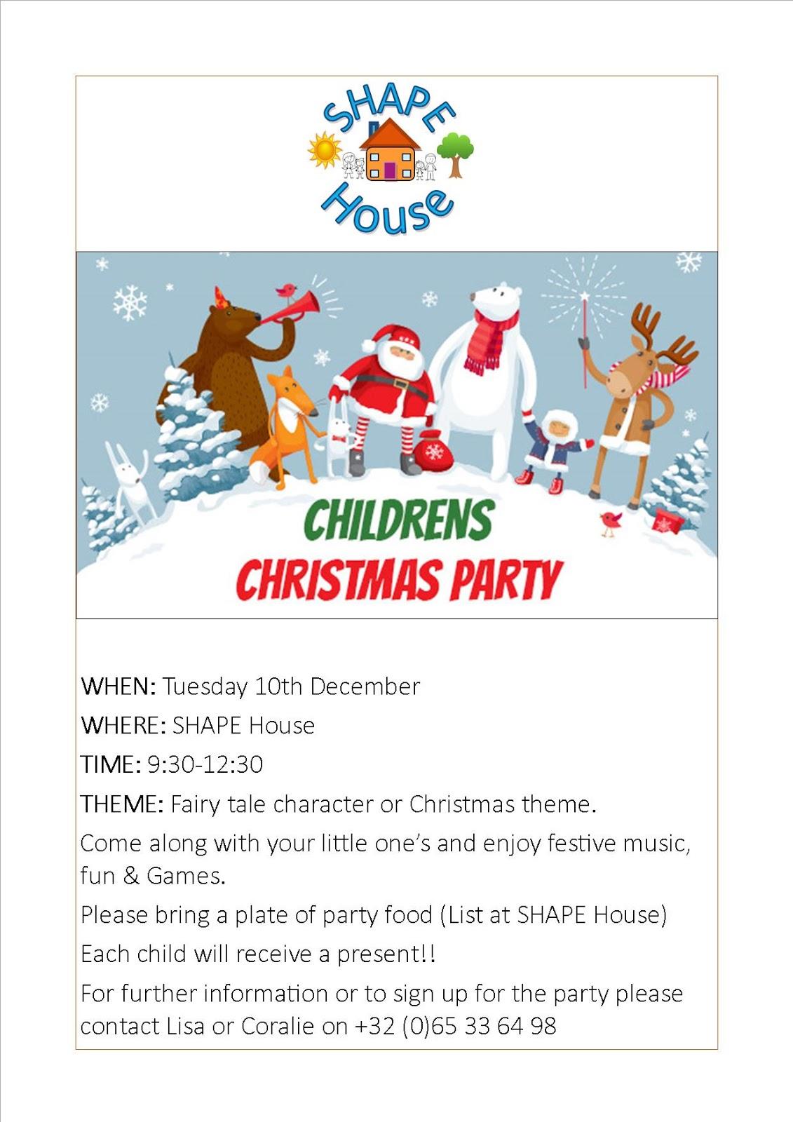 Shape Hive Shape House Christmas Party