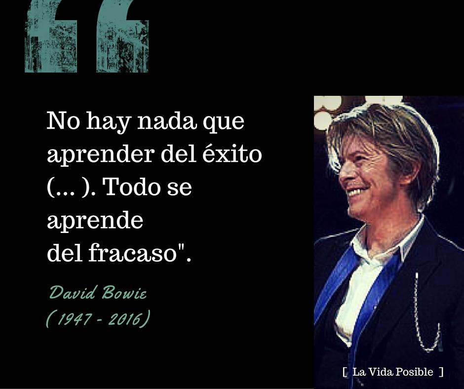 La Vida Posible David Bowie Sus Mejores Frases