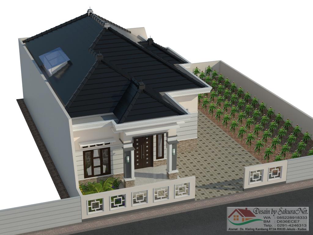 Desain 3d rumah by sakuranet desain rumah minimalis l1 9x17