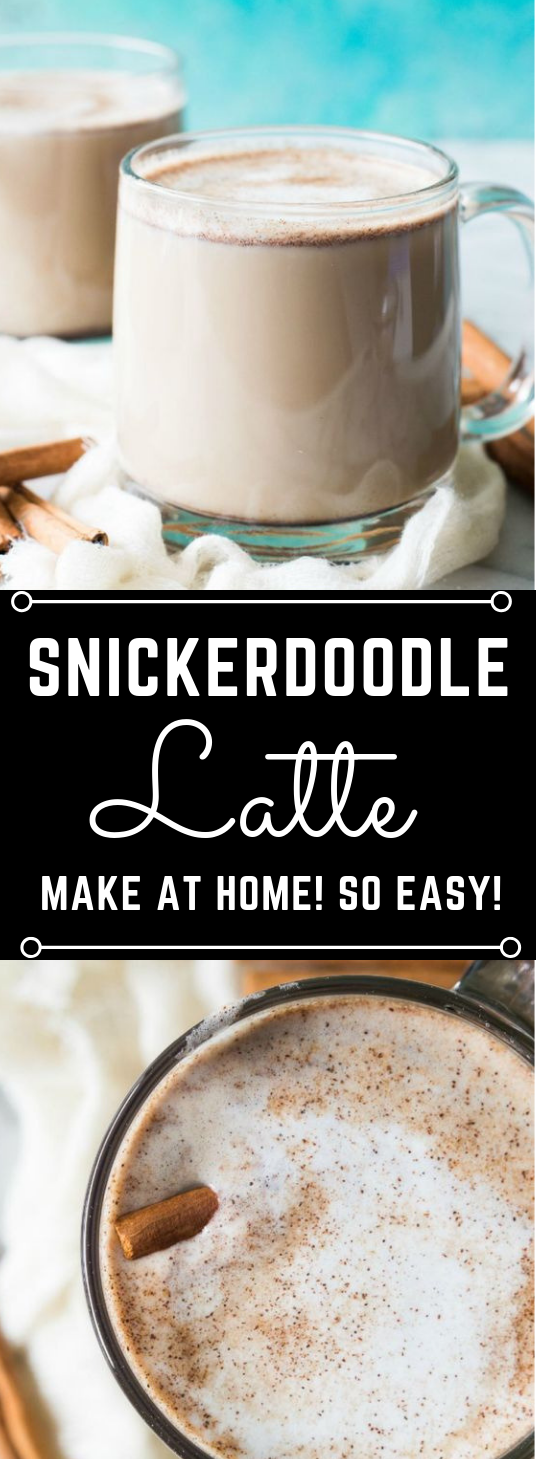 Snickerdoodle Latte #latte #drink #milktea #party #cocktail