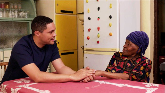 Video: Trevor Noah visits his Grandma in South Africa to talk about his childhood, apartheid and more
