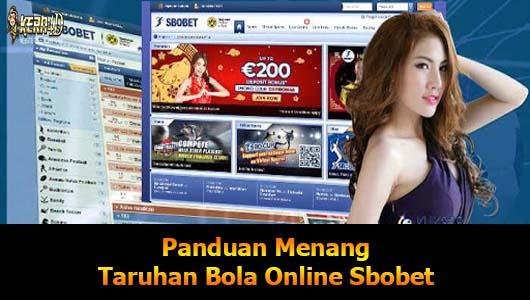 Panduan Menang Taruhan Bola Online Sbobet