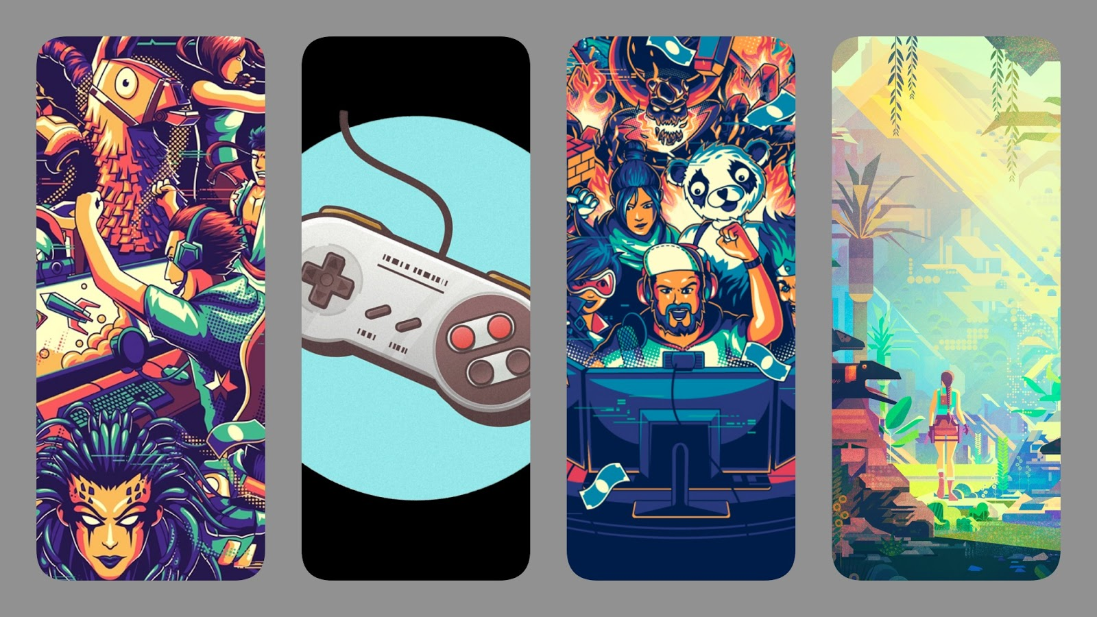 Phone wallpaper collection - Games
