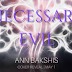 Cover Reveal -  Necessary Evil by Ann Bakshis