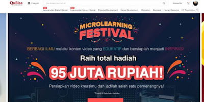 Mengikuti Platform belajar online Indonesia