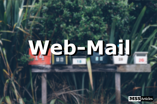 What is Web Mail - Featured image